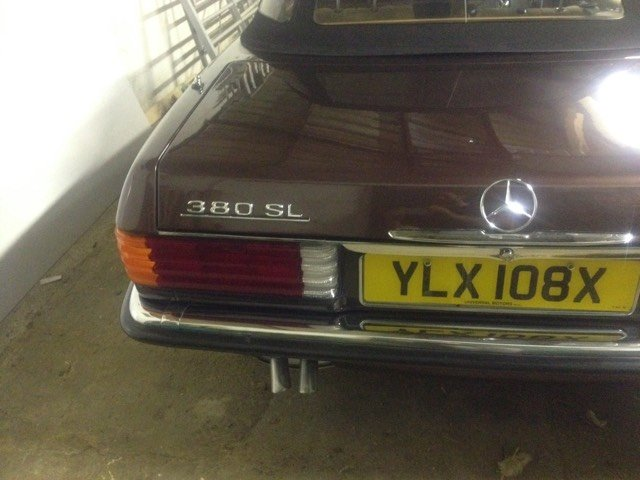 1981 Mercedes BENZ in unique colour and immaculate For Sale (picture 6 of 6)