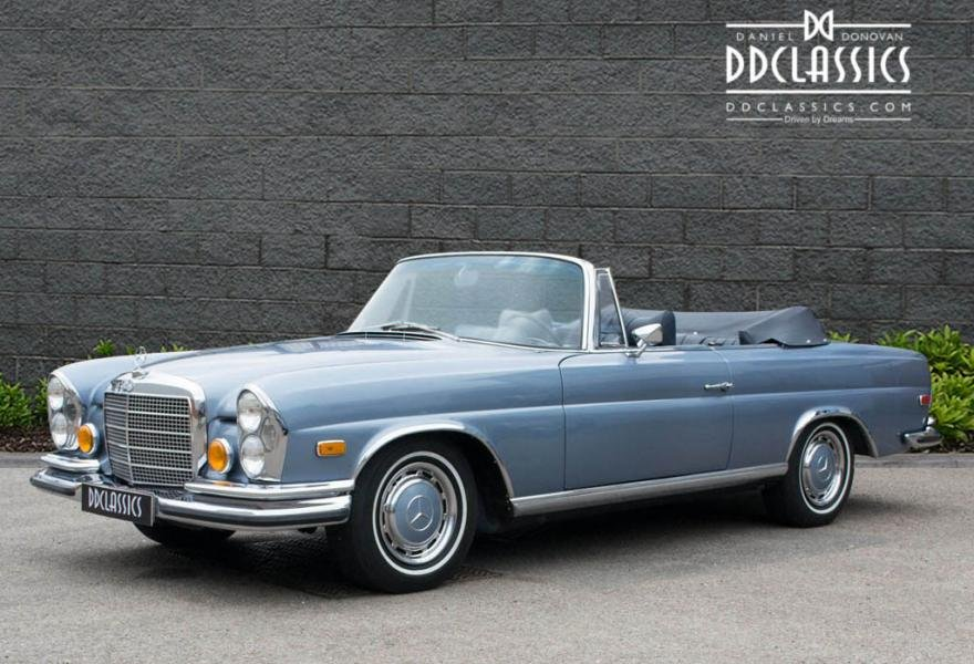 1971 MERCEDES 280SE 3.5 CABRIOLET (LHD) For Sale (picture 1 of 6)