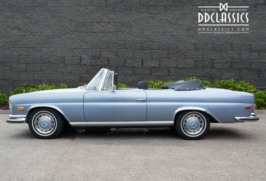 1971 MERCEDES 280SE 3.5 CABRIOLET (LHD) For Sale (picture 2 of 6)