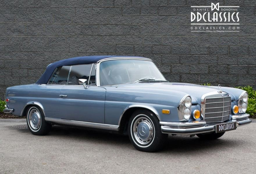 1971 MERCEDES 280SE 3.5 CABRIOLET (LHD) For Sale (picture 3 of 6)