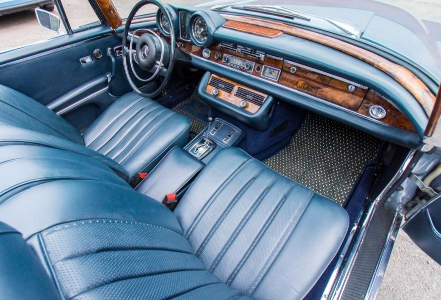 1971 MERCEDES 280SE 3.5 CABRIOLET (LHD) For Sale (picture 5 of 6)