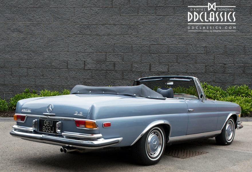 1971 MERCEDES 280SE 3.5 CABRIOLET (LHD) For Sale (picture 4 of 6)