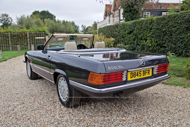 1987 MERCEDES-BENZ SL500 R107  For Sale (picture 2 of 6)