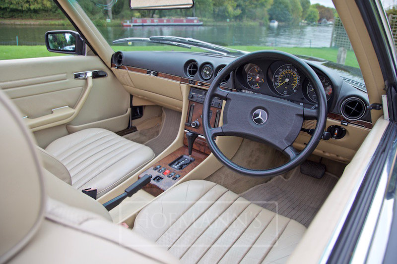 1987 MERCEDES-BENZ SL500 R107  For Sale (picture 5 of 6)