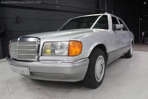 1987 MERCEDES-BENZ 300SE For Sale by Auction