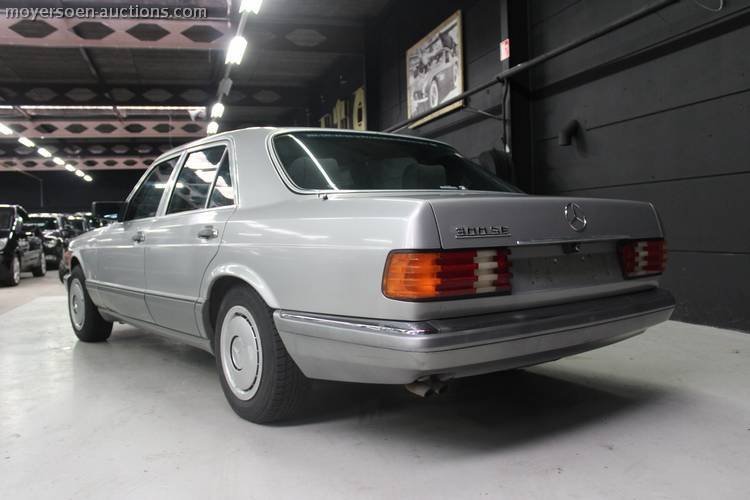 1987 MERCEDES-BENZ 300SE For Sale by Auction (picture 3 of 4)