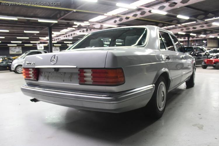 1987 MERCEDES-BENZ 300SE For Sale by Auction (picture 4 of 4)