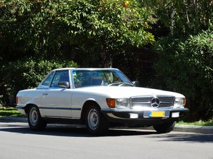1983 Mercedes-Benz 380 SL, 46220km, exceptionally original For Sale