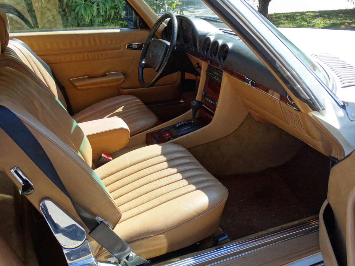 1983 Mercedes-Benz 380 SL, 46220km, exceptionally original For Sale (picture 3 of 6)