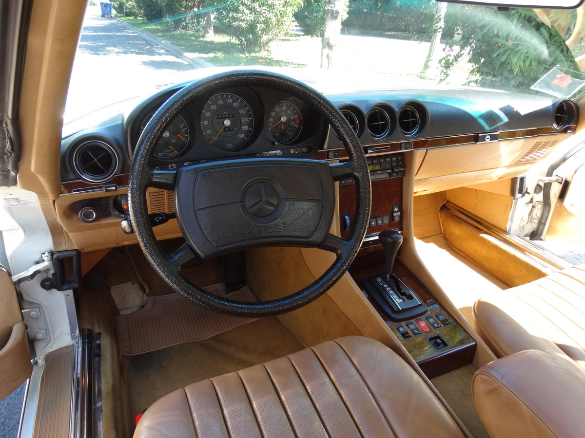 1983 Mercedes-Benz 380 SL, 46220km, exceptionally original For Sale (picture 4 of 6)