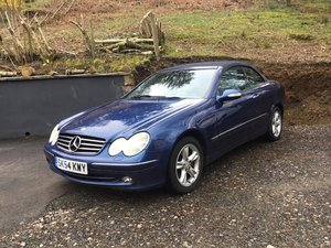 2004 Mercedes Clk Convertible For Sale