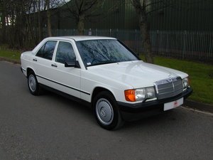 1985 MERCEDES BENZ 190 2.0e AUTO RHD - EARLY CAR - JUST 17k!  For Sale