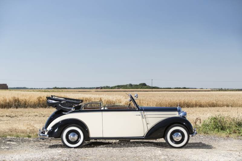 1951 Mercedes 170S Cabriolet For Sale (picture 1 of 6)
