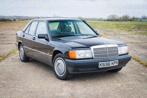 1992 Mercedes-Benz W201 190E - 77K Miles - Original throughout SOLD