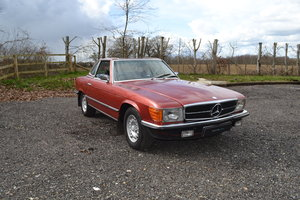 1972 Mercedes-Benz 350SL RHD For Sale