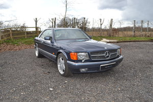 1989 Mercedes-Benz 560 SEC RHD For Sale