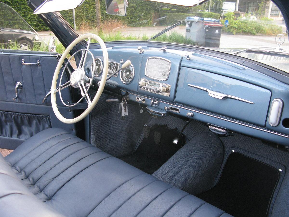 1957 Mercedes 220