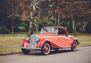 1938 Mercedes 170 V Roadster For Sale
