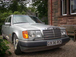 1990 W124 Mercedes 300TE  Silver For Sale