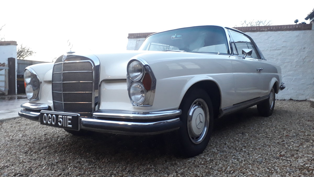 1967 SUPERB RESTORED RHD 250SE COUPE..ONLY THREE OWNERS For Sale (picture 2 of 6)