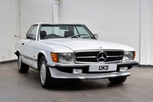 MERCEDES BENZ SL SL-CLASS 420 R107 AUTO WHITE 1987 For Sale