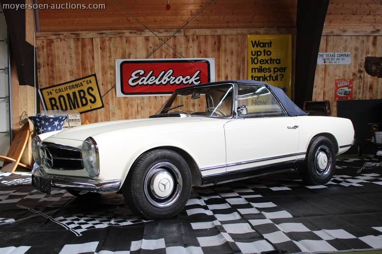 1966 MERCEDES-BENZ 230SL Pagode For Sale by Auction (picture 1 of 6)