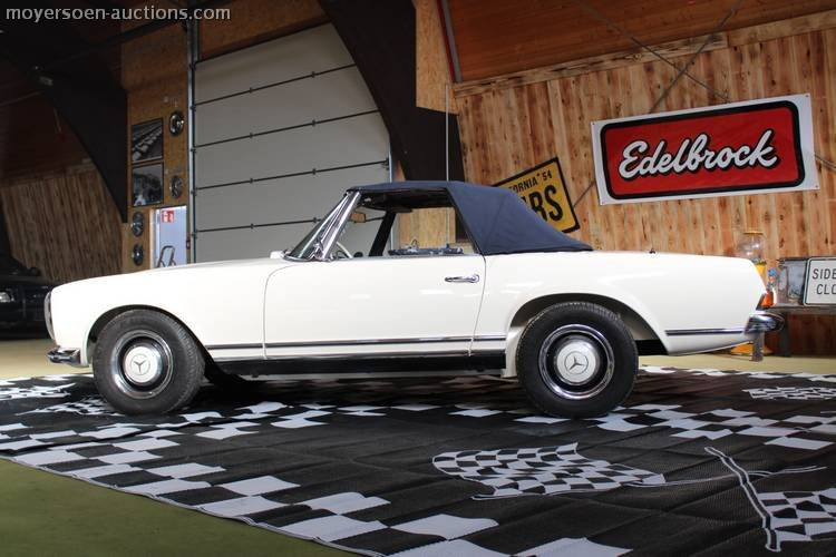 1966 MERCEDES-BENZ 230SL Pagode For Sale by Auction (picture 2 of 6)