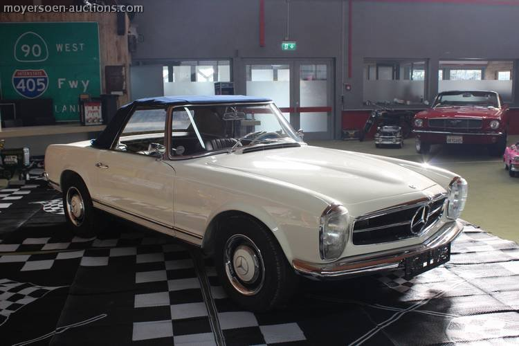 1966 MERCEDES-BENZ 230SL Pagode For Sale by Auction (picture 6 of 6)