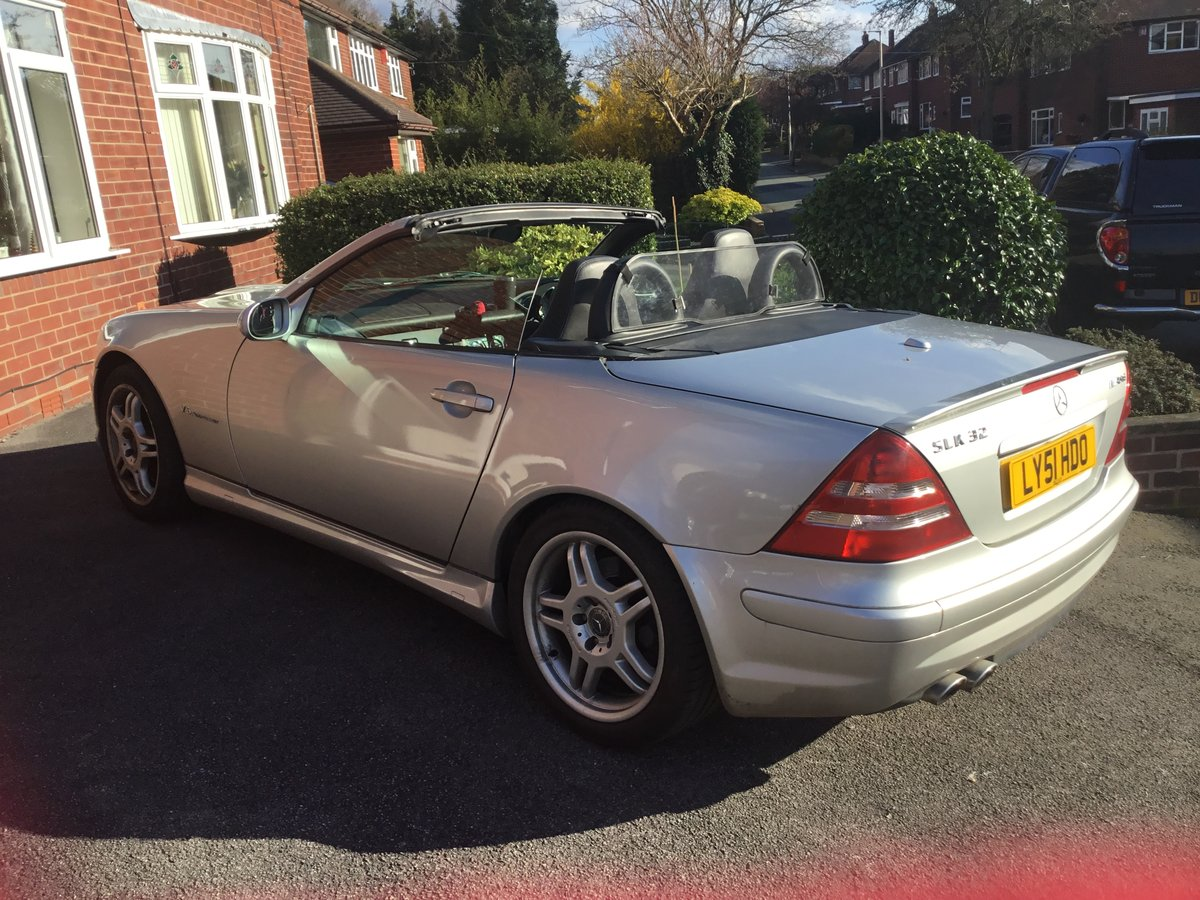 2001 SLK32 AMG For Sale (picture 1 of 5)