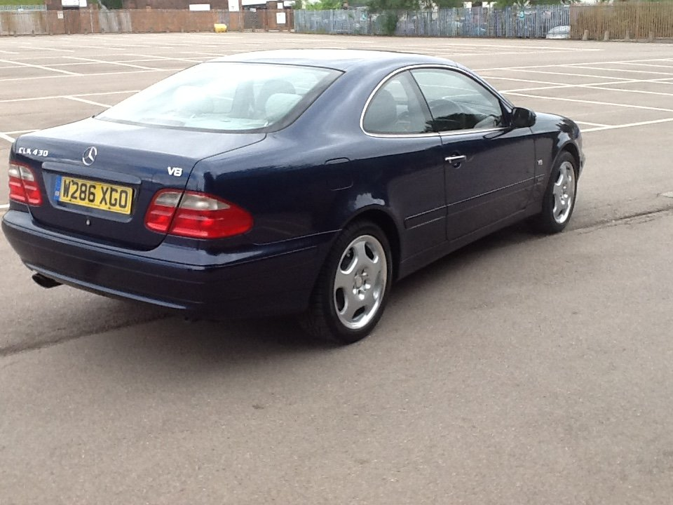 2000 Rare Mercedes clk v8 For Sale (picture 3 of 6)