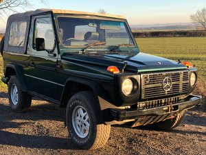 1986 Mercedes Benz G-Wagon 280 Ge Cabrio For Sale