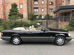 1995 Immaculate W124 E220 Convertible FSH 50,000m The Best For Sale