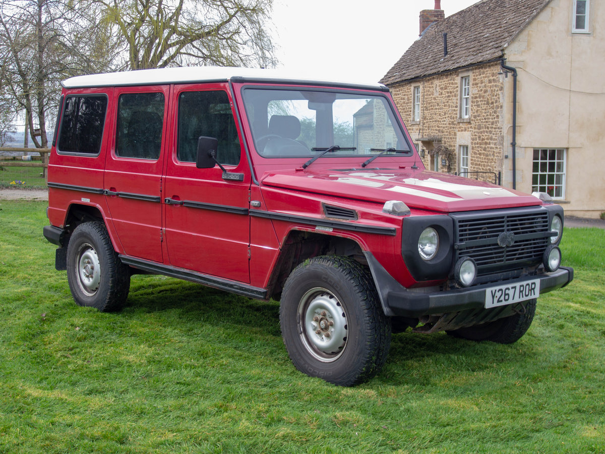 2001 Rare Steyr-Puch G Wagon tax exempt Fire Engine For Sale (picture 1 of 6)
