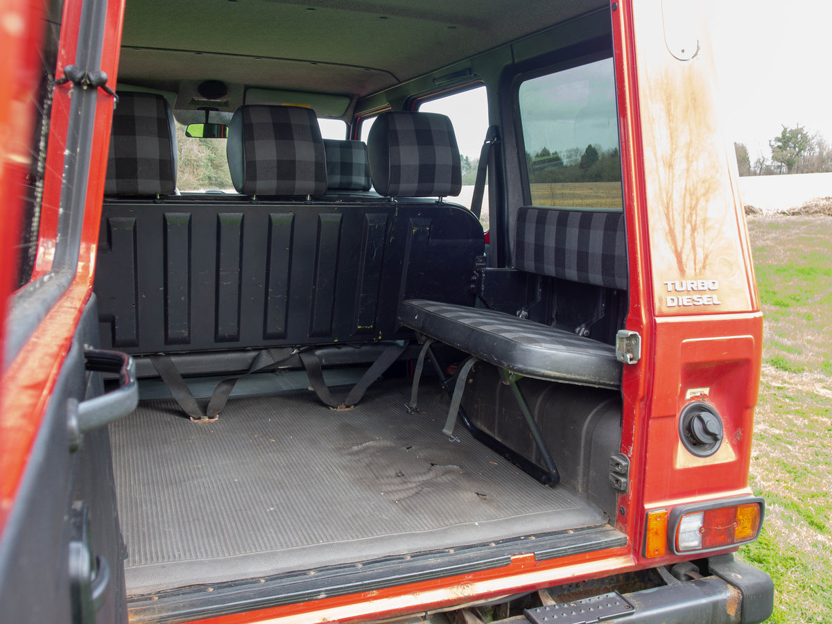 2001 Rare Steyr-Puch G Wagon tax exempt Fire Engine For Sale (picture 2 of 6)