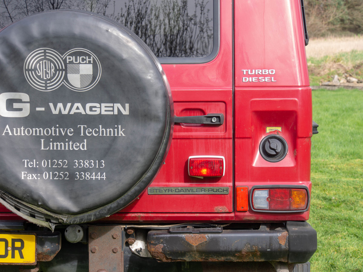 2001 Rare Steyr-Puch G Wagon tax exempt Fire Engine For Sale (picture 5 of 6)