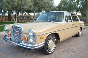 1973 Mercedes-Benz 280SEL 4.5 = clean Maple(~)Tan $obo For Sale