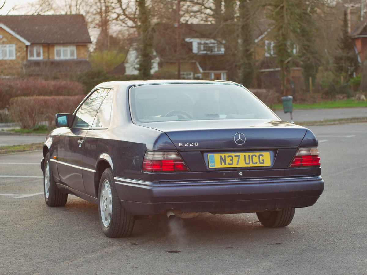 1995 Mercedes E220 Coupe - W124 C124 For Sale (picture 3 of 6)