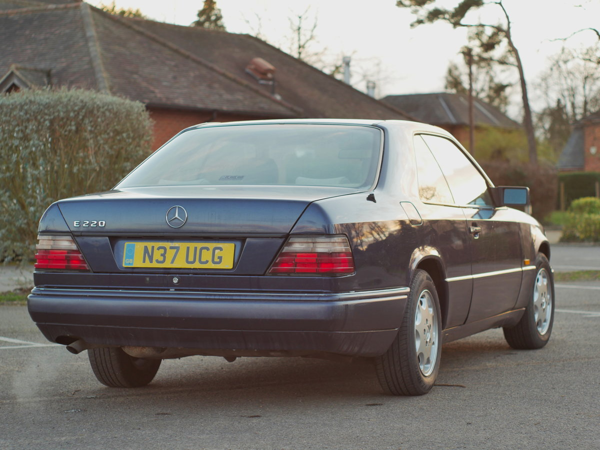 1995 Mercedes E220 Coupe - W124 C124 For Sale (picture 4 of 6)