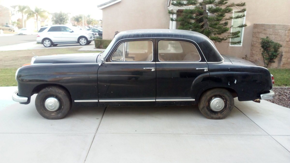 1959 Mercedes 219 For Sale (picture 1 of 1)