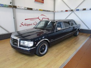 Mercedes 500SEL Limo Schultz ''Pullmann Conversion'' For Sale