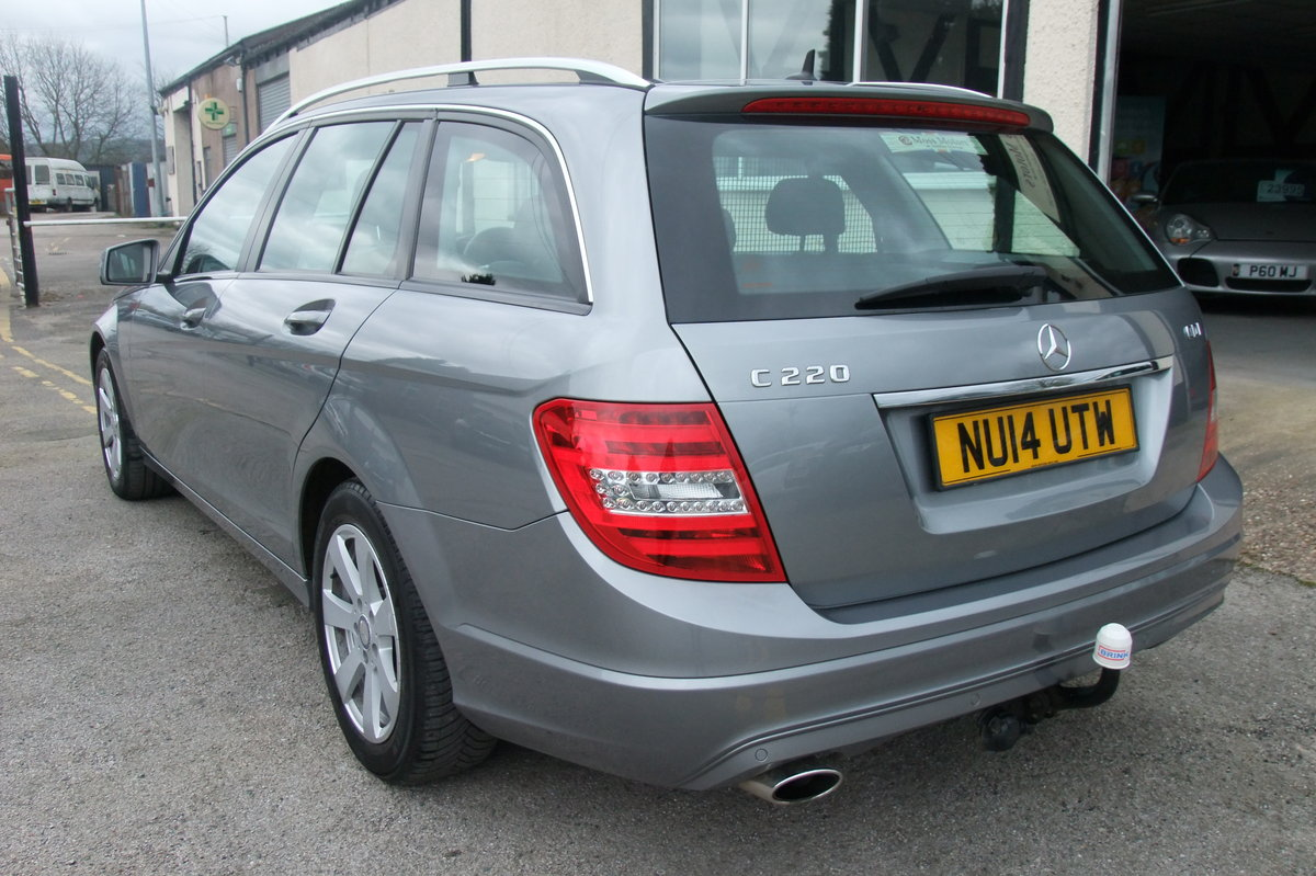 2014 MERCEDES-BENZ C-CLASS 2.1 C220 CDI BLUEEFFICIENCY EXECUTIVE  SOLD (picture 3 of 6)
