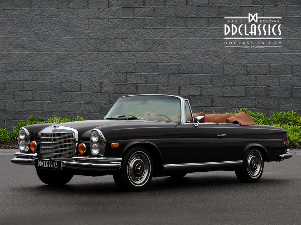 1971 Mercedes Benz 280SE 3.5 Cabriolet LHD For Sale (picture 1 of 6)