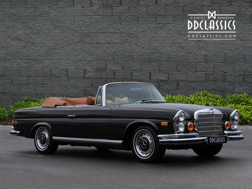 1971 Mercedes Benz 280SE 3.5 Cabriolet LHD For Sale (picture 2 of 6)