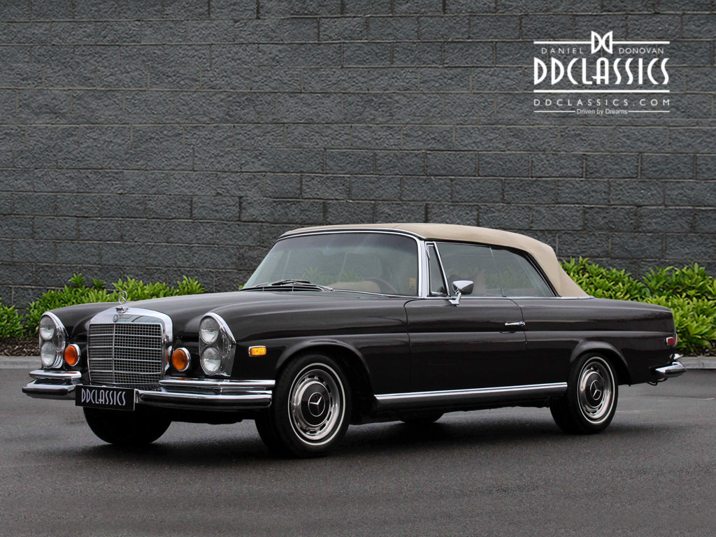 1971 Mercedes Benz 280SE 3.5 Cabriolet LHD For Sale (picture 4 of 6)
