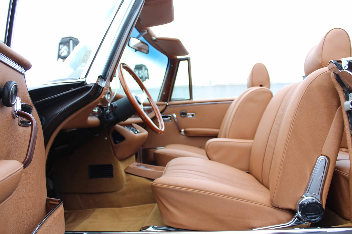 1971 Mercedes Benz 280SE 3.5 Cabriolet LHD For Sale (picture 5 of 6)