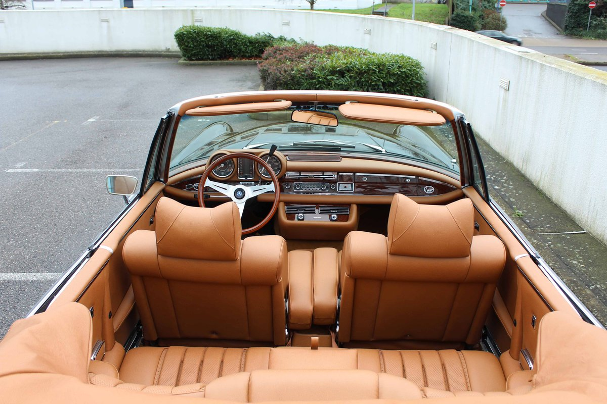1971 Mercedes Benz 280SE 3.5 Cabriolet Stacking Head Light F For Sale (picture 6 of 6)