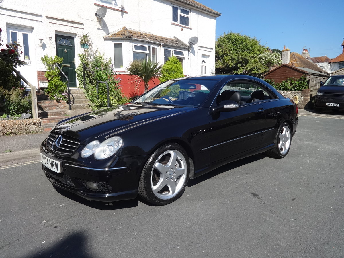 2004 Mercedes Benz CLK55 AMG For Sale (picture 1 of 6)