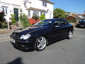 2004 Mercedes Benz CLK55 AMG For Sale
