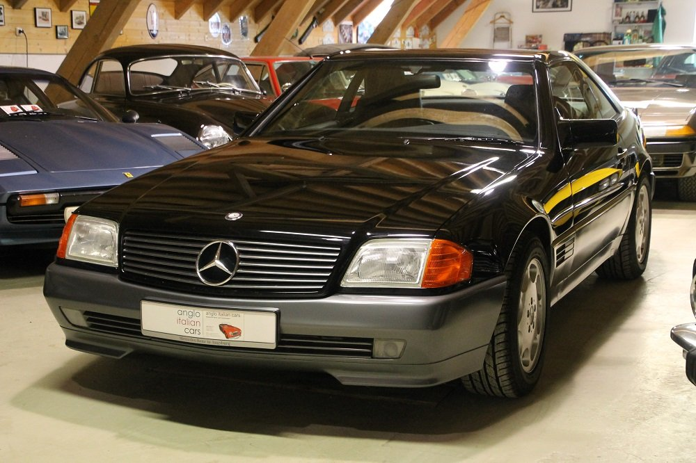 1993 MB 300 SL - 24 / 21000 km / 2 owners / like a new car For Sale (picture 1 of 6)