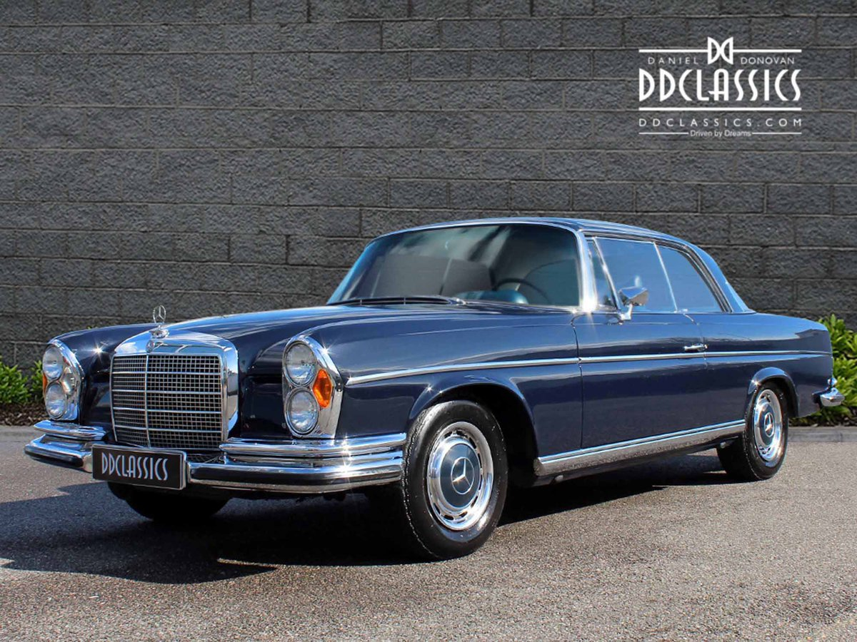 1970 Mercedes Benz 280SE 3.5 Coupe For Sale in London For Sale (picture 1 of 6)